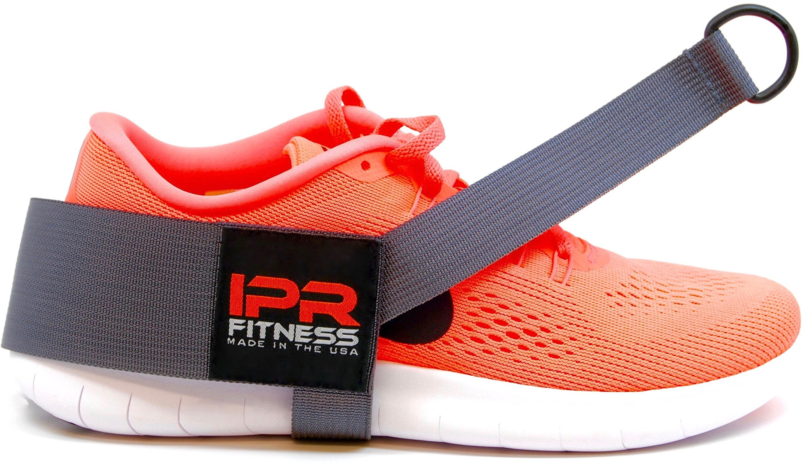 "IPR Fitness Glute Kickback LITE ""Patented"" 100% Made in The USA - Cable Machine Ankle Strap"