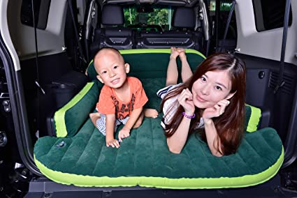 Amazon.: Heavy Duty Inflatable Car Mattress Bed for SUV