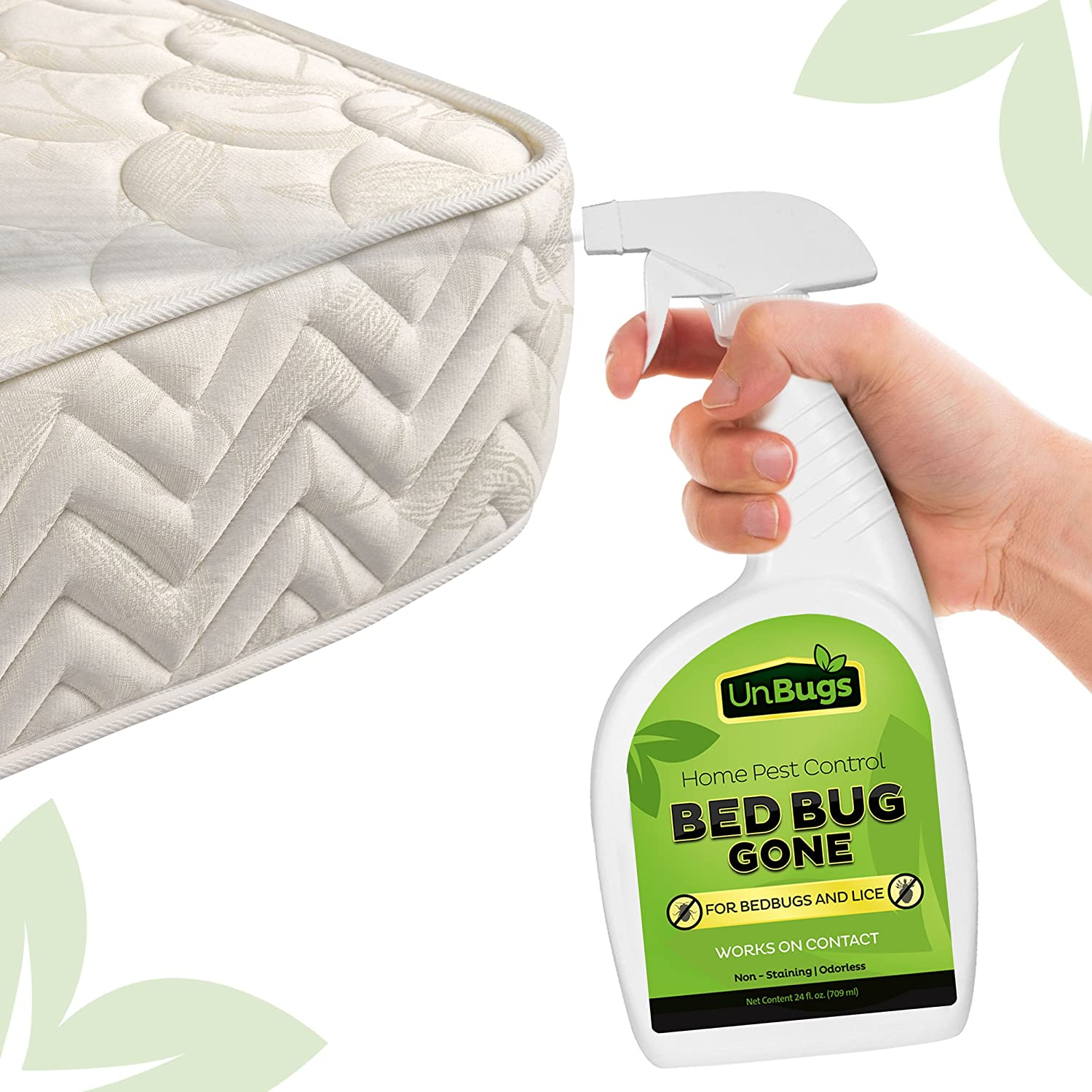 amazon com unbugs bed bug spray killer pest control treatment