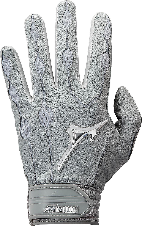 Mizuno Youth Covertバッティング手袋 B01JFZTXOYグレー Medium