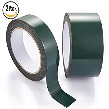 Single Sided Foam Tape 1.5mm Thick x 19mm Wide Self Adhesive Closed Cell