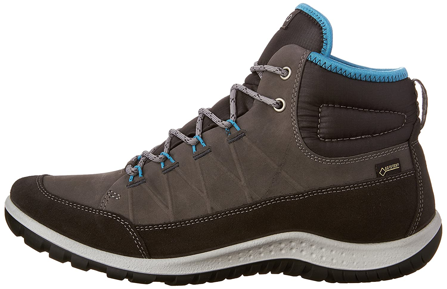 ECCO Women's Aspina High Gore-Tex EU/11-11.5 Hiking Shoe B0163GD0ME 42 EU/11-11.5 Gore-Tex M US|Moonless/Dark Shadow a22fc9