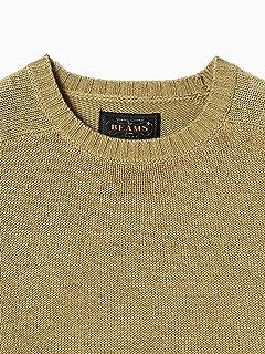 Cotton Crewneck Sweater 11-15-1021-103: Khaki