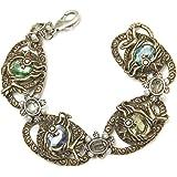 Jeweled Angel Fish Bracelet