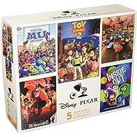 Ceaco Rompecabezas Disney Pixar 5 en 1, Paquete múltiple, Incluye (2) 300 Piezas, (2) 550 Piezas, (1) Rompecabezas de 750 Piezas
