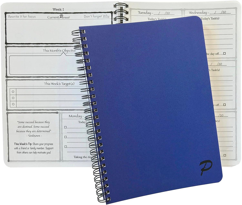 Amazon.com: Pursuit Goal Journal - Un método único, de baja ...