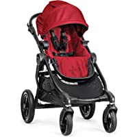 Baby Jogger City Select Quick Fold Baby Stroller with 16 Ways to Ride (Red)