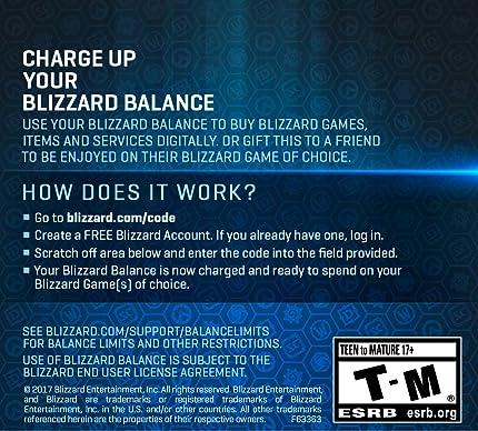 Amazon.com: $20 Battle.net Store Gift Card Balance ...