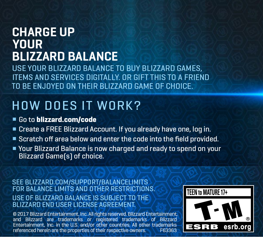$100 Battle.net Store Gift Card Balance [Online Game Code] by Blizzard Entertainment (Image #1)