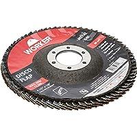 DISCO FLAP CURVO G80 114,3X22,23MM METAL