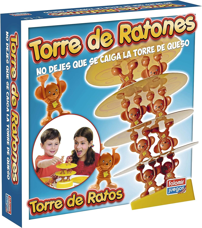 Falomir - Torre de Ratones, Juego de Mesa (24015): Amazon.es: Juguetes y juegos
