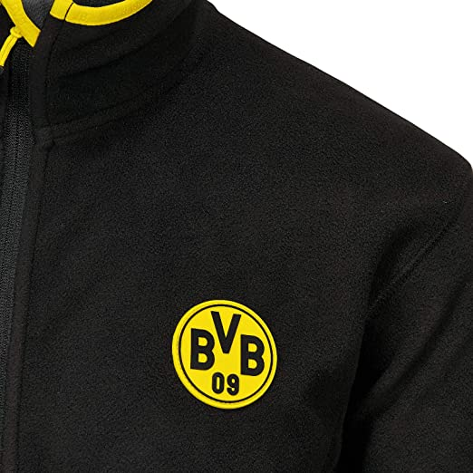 Giacca in pile da uomo Borussia Dortmund Giacche Uomo ...