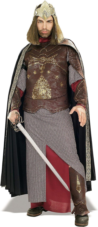 LOTR Deluxe - Disfraz Aragorn Rey de Gondor para adultos: Amazon ...