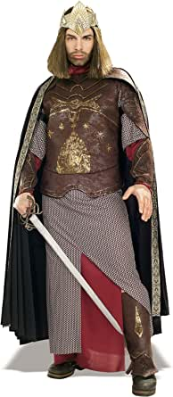 Rubie's Costume Co. Men's The Lord of The Rings Deluxe Aragorn King Gondor Costume