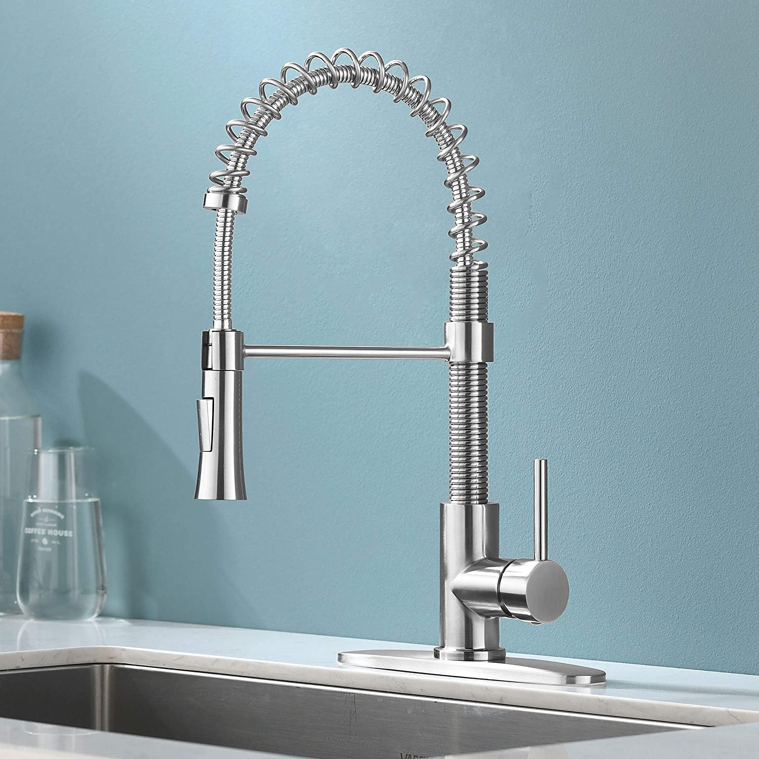 KINGO HOME Lead-Free Kitchen Faucet