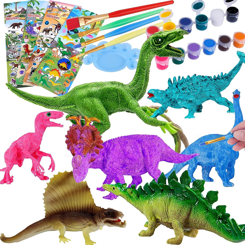 Dinosaur Skin Paint Pour