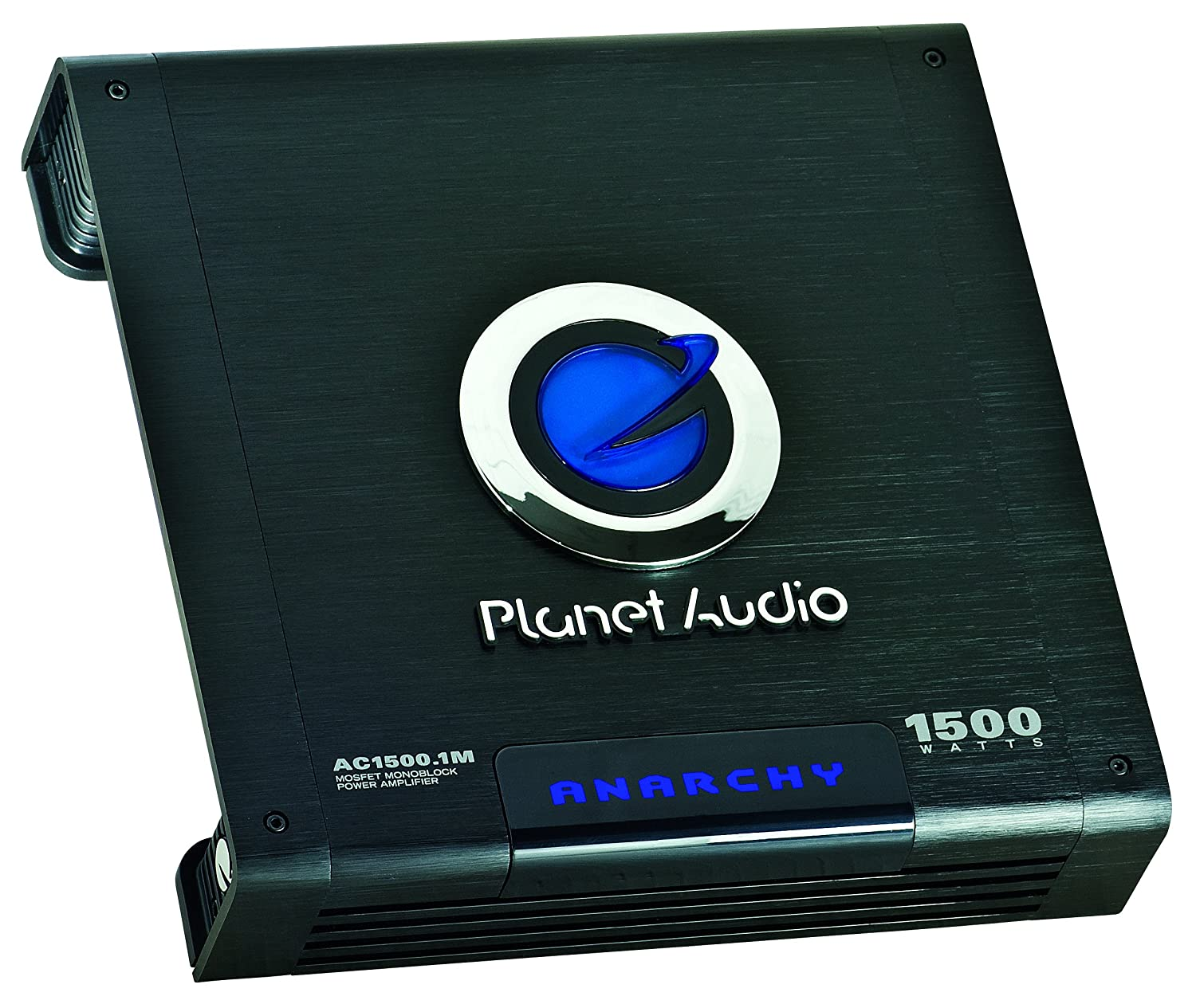 Planet Audio Ac15001m Car Amplifier 1500 Watts Max 25w Classa Power Circuit Diagram Supreem Circuits 2 4 Ohm Stable Class A B Monoblock Mosfet Supply Remote Subwoofer