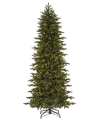 tree classics oregonian slim artificial christmas tree 9 feet prelit clear lights