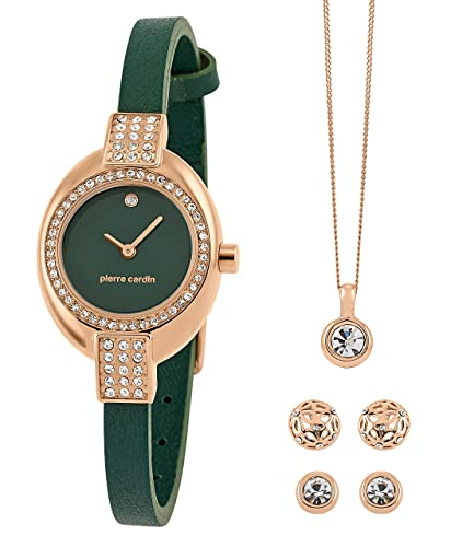 Women's Jewellery Sets with Watch, Necklace and 2 Earrings in Gift Box