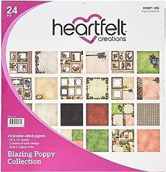 Heartfelt Creations HCDP1/ /287/double-sided Paper Pad 30,5/x 30,5/cm 24//pkg-lush lilla