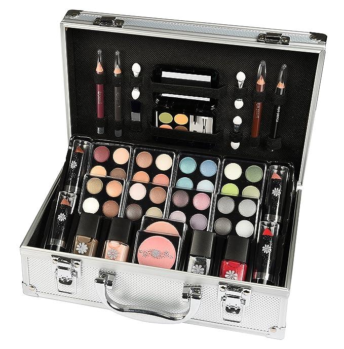 Set de maquillaje que contiene 52 piezas.