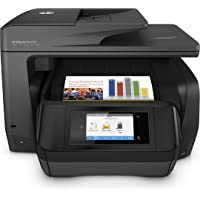 HP Officejet Pro 8720 Wireless Monochrome Inkjet All-In-One Printer with Duplex (Black)