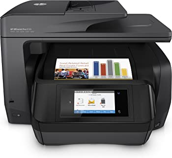 HP Officejet Pro 8720 Inkjet All-In-One Monochrome Printer