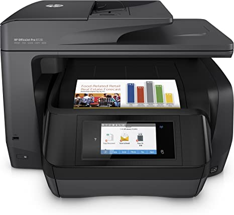 Amazon.com: Impresora multifunción HP OfficeJet 8720 ...