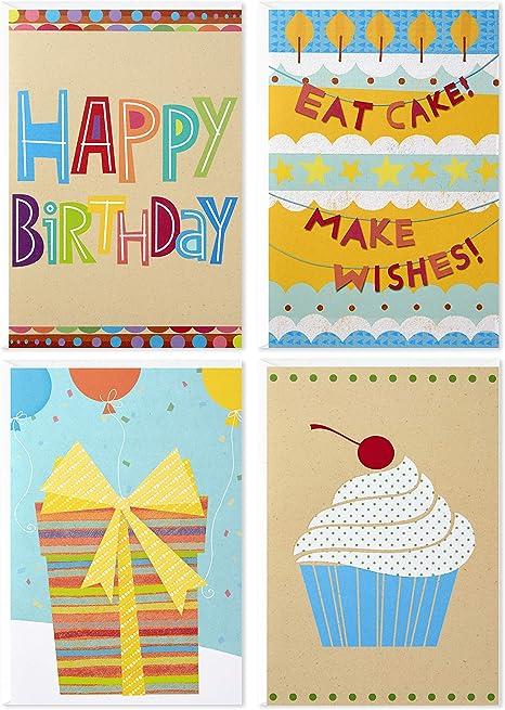 Amazon.com: Hallmark - Tarjetas de cumpleaños surtidas ...