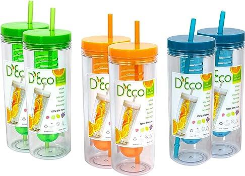 D'Eco Fruit Infuser Water Bottle