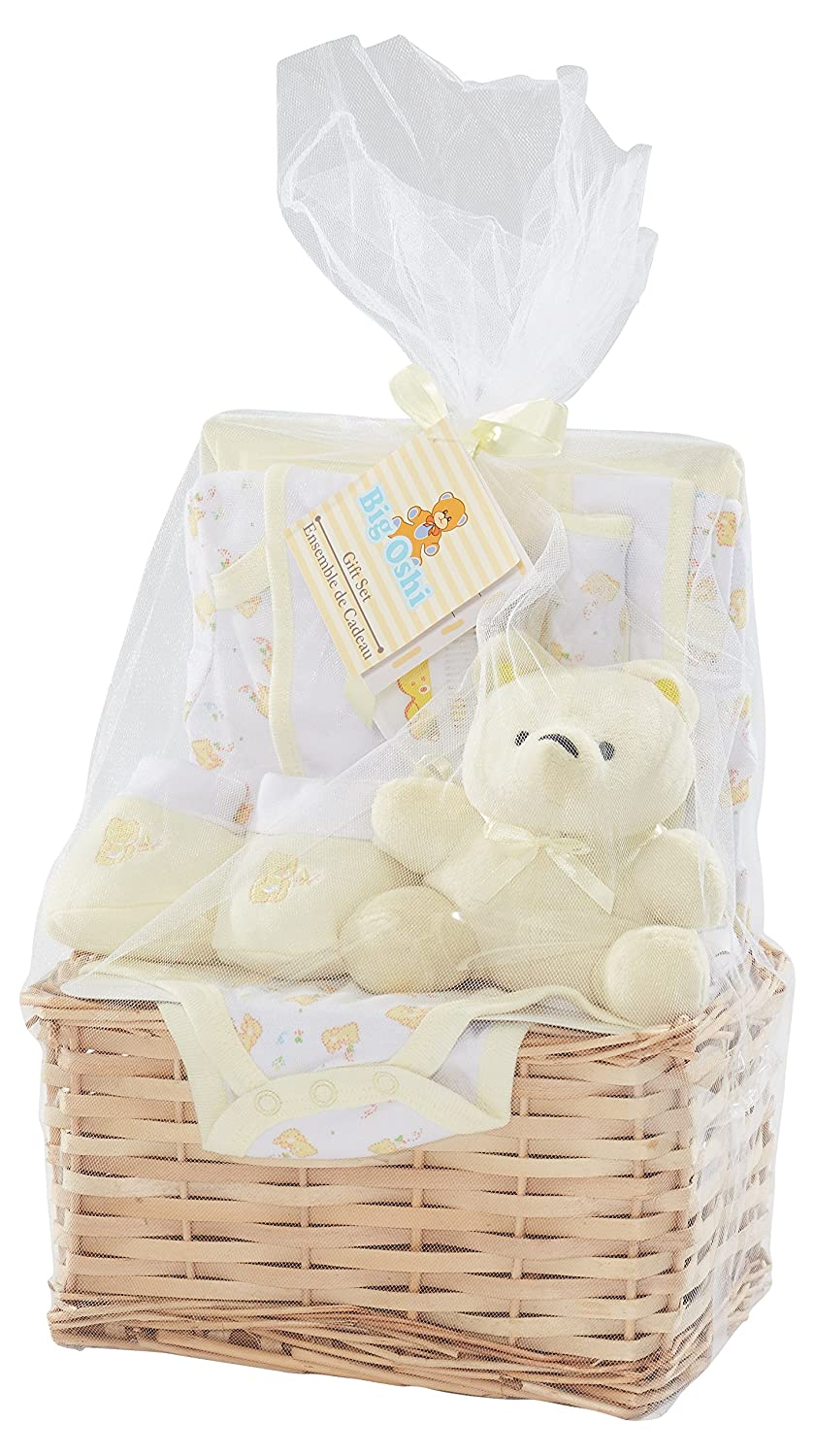 0//3 Month Baby Boy,Girl,Gift 7 Piece Gift Box Hamper Set Baby Shower Present