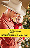 Love Inspired December 2014 - Box Set 2 of 2: Her Holiday Family\Sugar Plum Season\Her Cowboy Hero\Small-Town Fireman