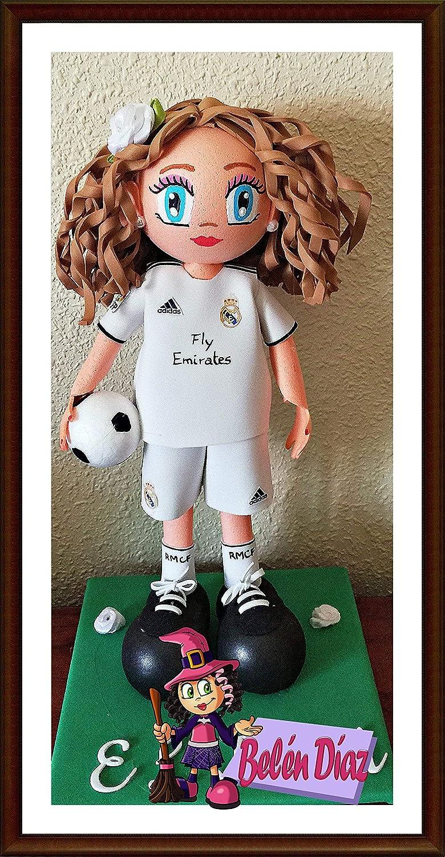 Muñeca fofucha personalizada Real Madrid C.F. 26 cms. fútbol liga ...