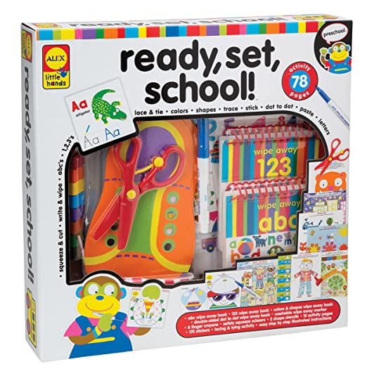 Amazon.com: ALEX Toys Little Hands Ready Set School: Toys & Games