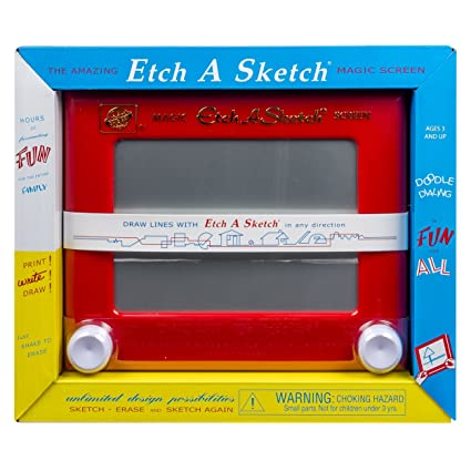 Amazon.com: Etch A Sketch - Classic - Red: Toys & Games