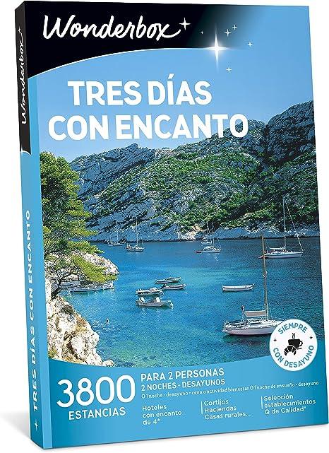 WONDERBOX Caja Regalo -Tres DÍAS con Encanto- 3.800 estancias ...