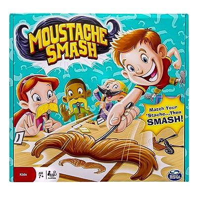 Spin Master Games - Moustache Smash: Toys & Games