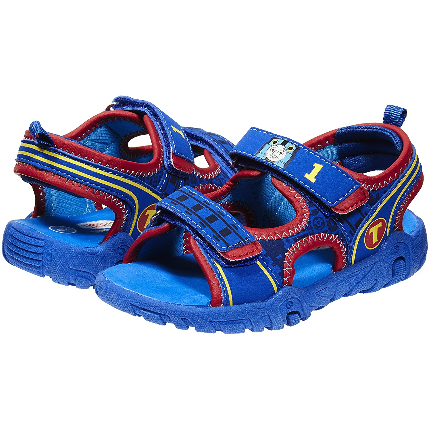 11e7fd1582574 Thomas and Friends TPR Sole Sandals for Boys