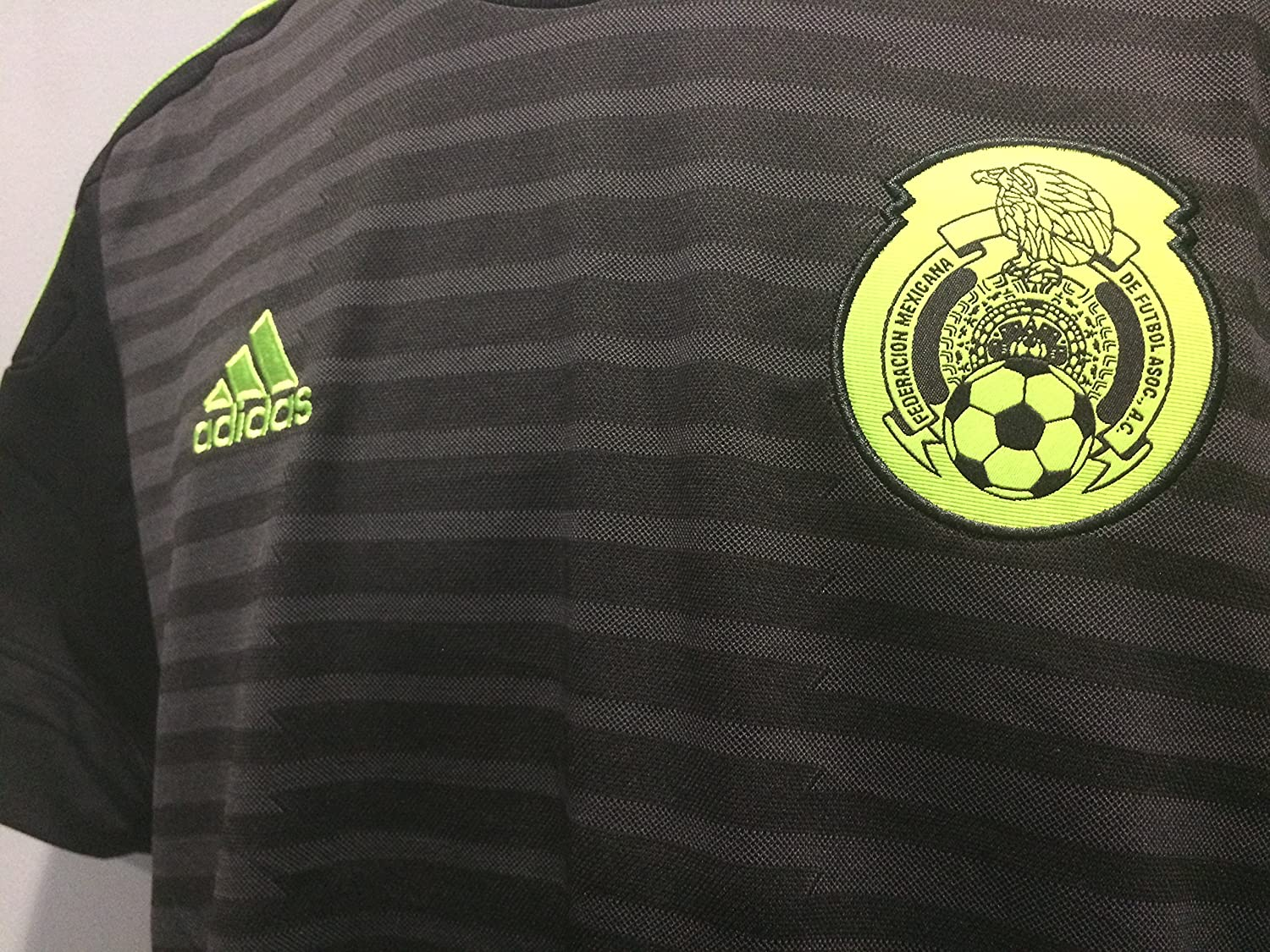 Amazon.com : Seleccion Mexicana Black Jersey Pumas America Chivas : Sports & Outdoors