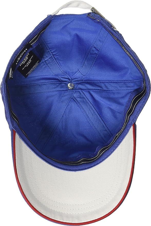 Hackett London New Number Cap Gorra de béisbol, Azul (Blue 551 ...
