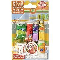 Iwako Japanese Brand Snacks Food Japanese Eraser Set