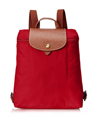 13f9313bd5eb Amazon.com  Longchamp Le Pliage Ladies Medium Nylon Backpack L1699089545   Watches