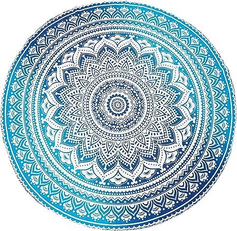 Indian Mandala Beach Throw Hippie Yoga Wall Towel Bedspread Tapestry Blanket Mat