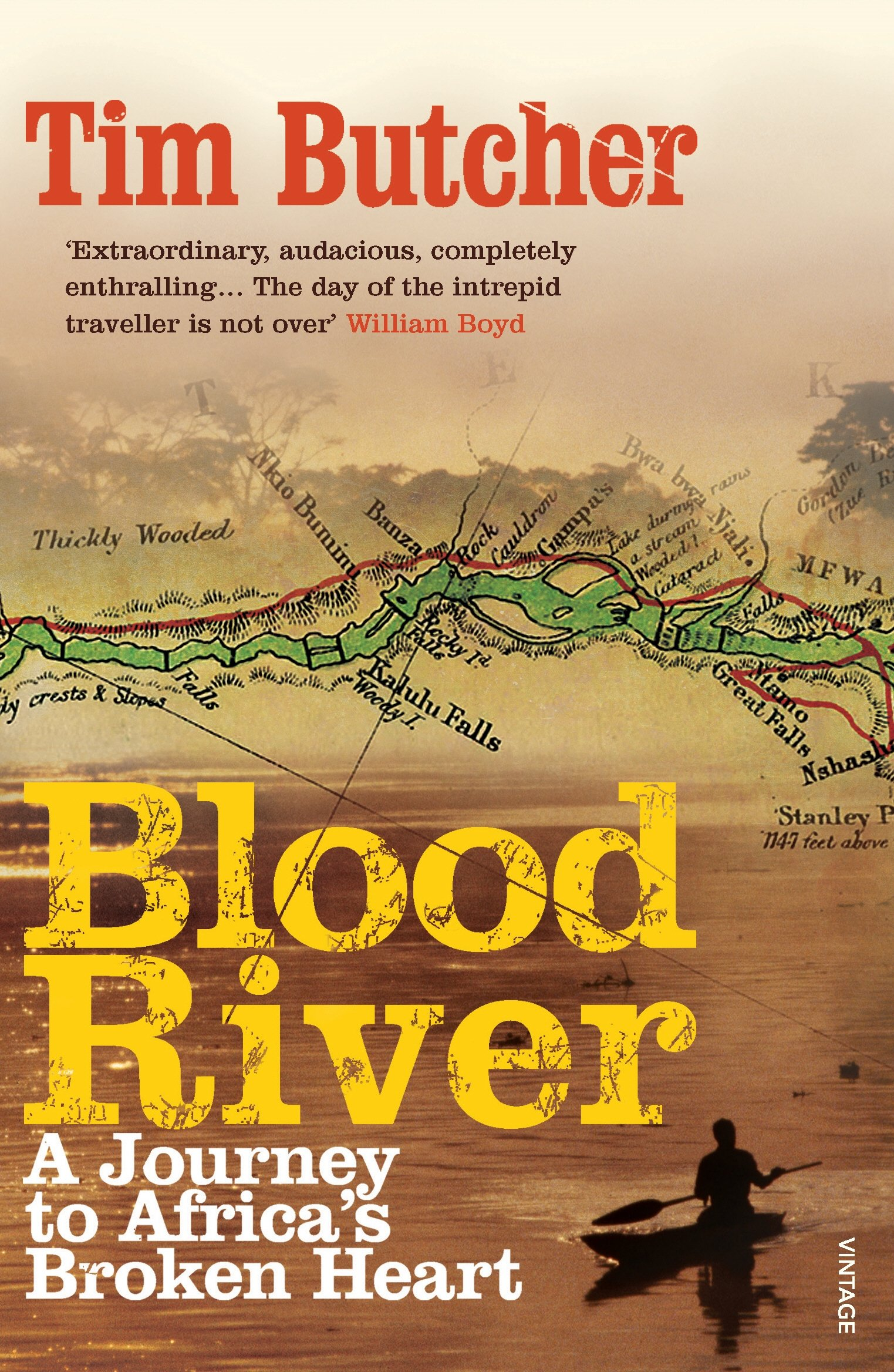 Blood River: A Journey to Africa's Broken Heart: Amazon.co.uk: Tim Butcher:  8601404272844: Books