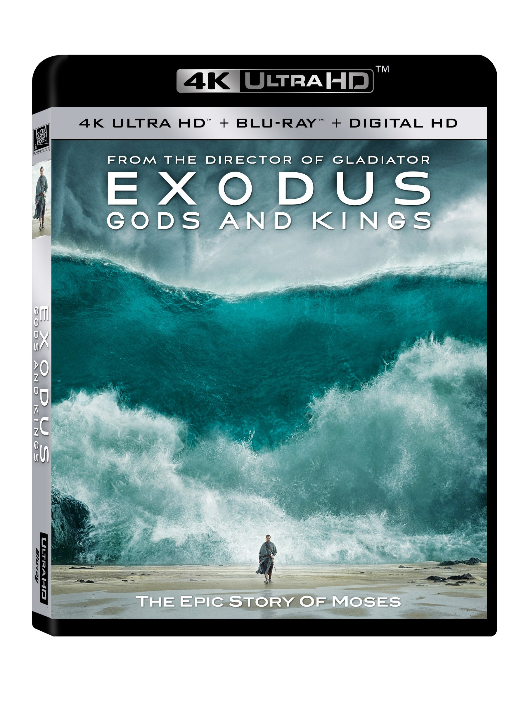 4K Blu-ray : Exodus: Gods and Kings (Digitally Mastered in HD)