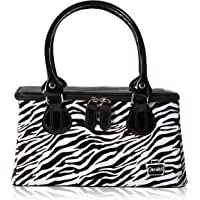 Caboodles Heart Throb Long Tapered Tote, Zebra, 1.12 Pound