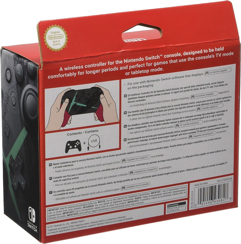 Nintendo - Mando ProController Edición Super Smash Bros: Nintendo: Amazon.es: Videojuegos