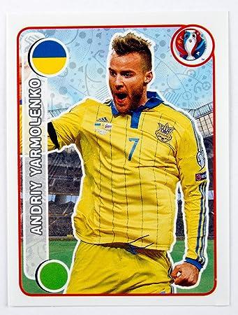 Uefa euro 2016 panini sticker andriy yarmolenko ukraine num 267