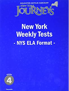Amazon journeys common core weekly assessments grade 4 journeys new york weekly test teacher guide grade 4 fandeluxe Choice Image