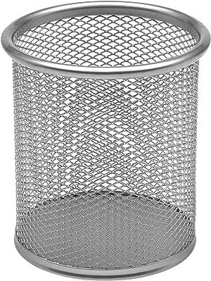 OSCO Mesh Pen Pot - Silver